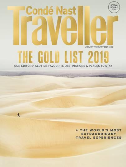Condé Nast Traveler's guide 2019